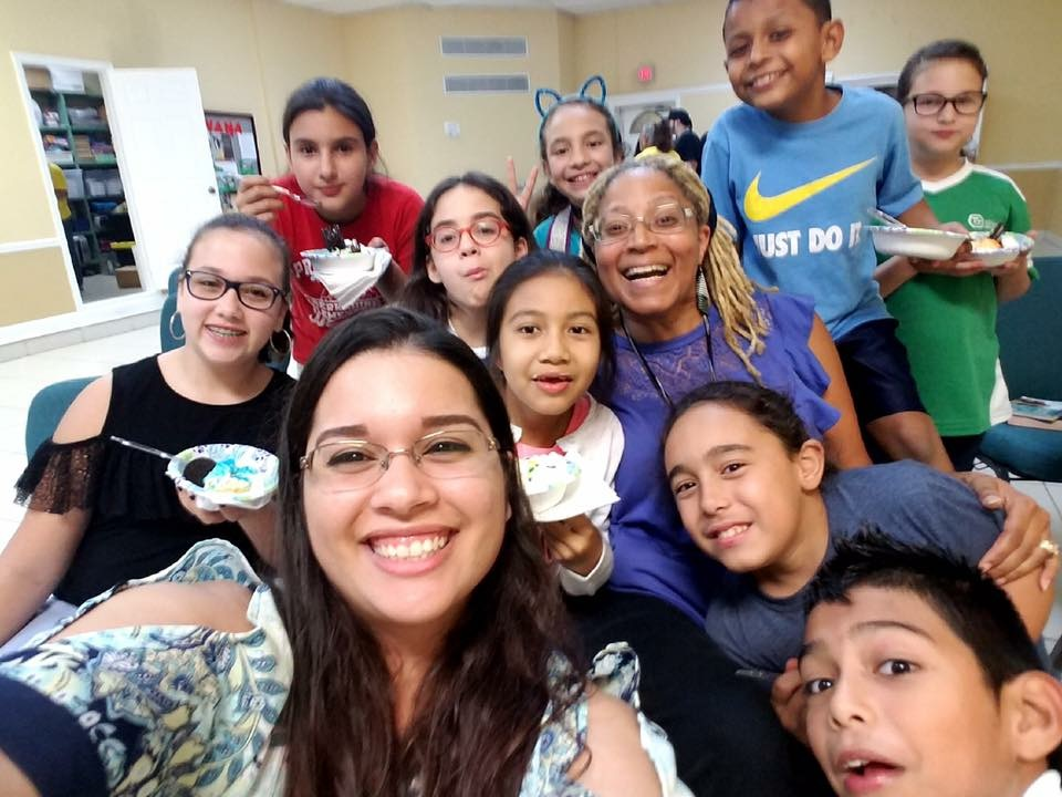 Chorus Member with Boys and Girls Club